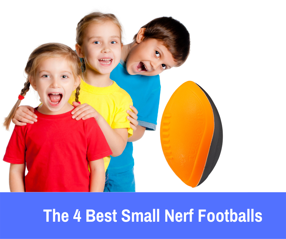 The 4 Best Small Nerf Football: Let's take a look at what we consider to be the best small Nerf football and provide you with a few other alternatives to help your child build a collection of their favorite Nerf toys.